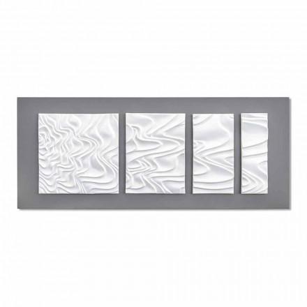 Composición de pared de cerámica de diseño moderno abstracto hecho en Italia - Verno