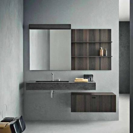 Composición para baño suspendido y diseño moderno Made in Italy - Farart9