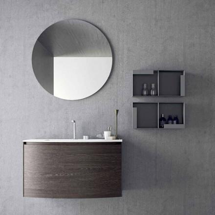 Composición para el baño suspendido de diseño moderno Made in Italy - Callisi11