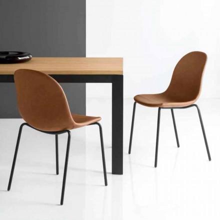 silla Connubia Academia Calligaris diseño italiano de la vendimia, 2 piezas