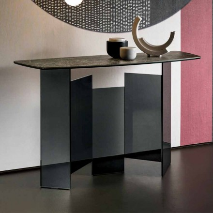 Consolle de Sala de Diseño en Ceràmica y Vidrio Hecho en Italia - Random