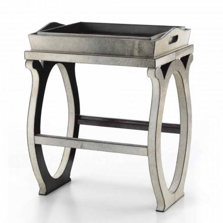 consola de diseño moderno con la bandeja gris pony Felicia