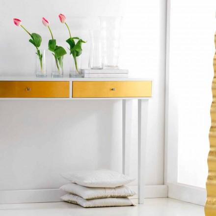 Consola fija cajones de madera con Beel, diseño moderno