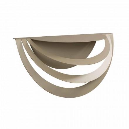 Consola suspendida en hierro para diseño moderno Made in Italy - Olfeo