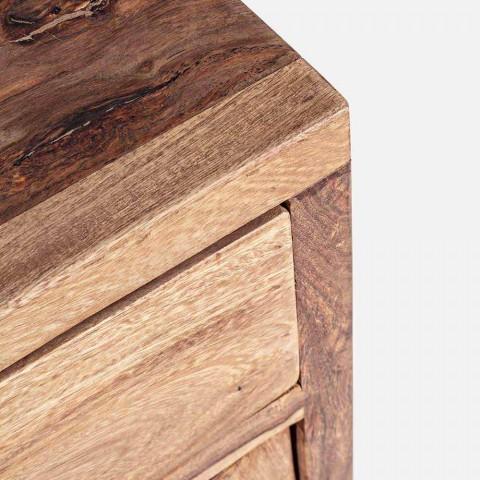 Aparador en Madera Acabado Natural con Puertas y Cajones Homemotion - Ventador