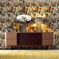 Aparador de chapa de madera Grilli York 4 hecho en Italia