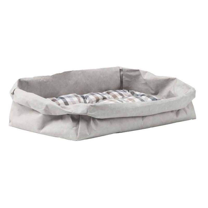 Cama para perro o gato de diseño en fibra celulosa pongo.