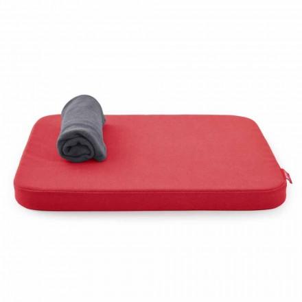 Soft Dog Bed con cojín y manta de vellón Made in Italy - Calduccio