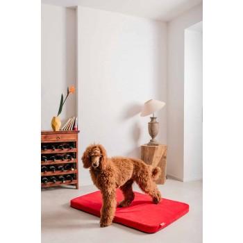 Caseta para perros de interior en microfibra extraíble Made in Italy - Simple