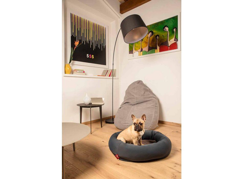 Perrera para perros de interior de microfibra extraíble Made in Italy - Suave