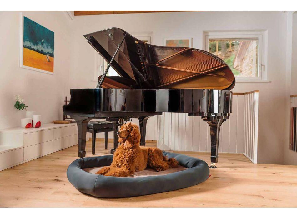 Casa para perros de interior extraíble de microfibra Made in Italy - Suave