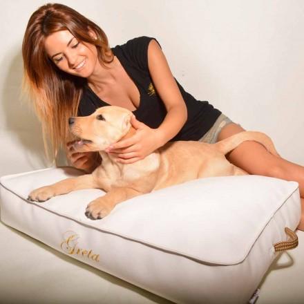 Cojín para perros interior revestido en ecopiel Doggy Cloud