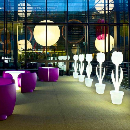 Decoración luminosa de muebles para diseño de interiores, 2 piezas - Tulip by Myyour