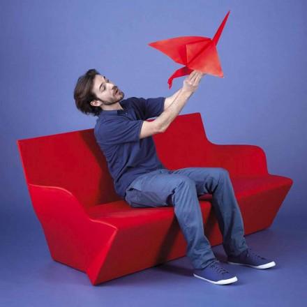 Sofá de jardín con brazos Slide Kami Yon hecho en Italia