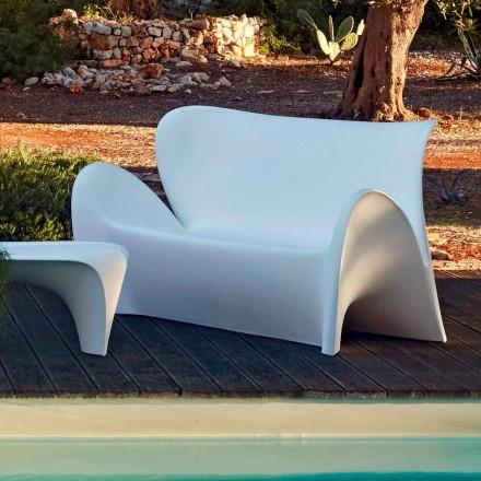Sofá de sala de estar interior o exterior con diseño de plástico de colores - Lily by Myyour