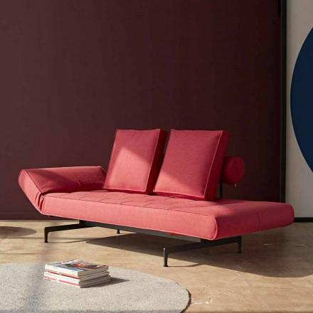 Sofá cama de diseño Ghia by Innovation en tejido acolchado