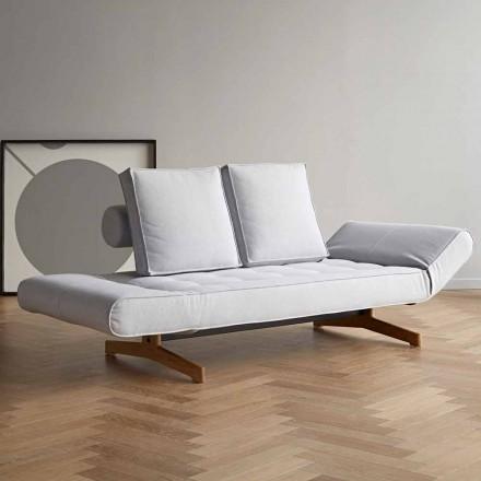 Sofá cama tapizado de diseño Ghia by Innovation en tela