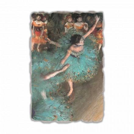 Edgar Degas, Bailarina Verde, 1877-1879 hecho en Italia