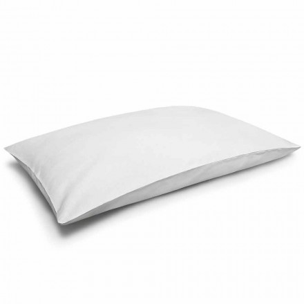 Funda de almohada de lino puro blanco crema Made in Italy - Blessy