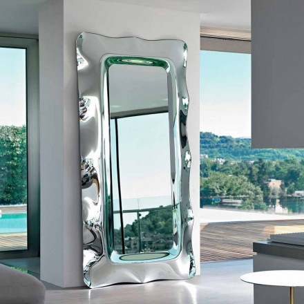 Fiam Italia Dorian 202x105cm suelo de espejo / de la pared Made in Italy