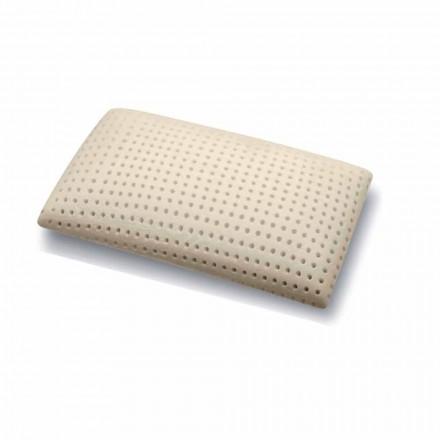 Almohada en espuma viscoelástica perforada de 15 cm de altura Made in Italy, 2 piezas - Toulouse