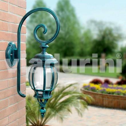 Lámpara de pared de exterior fabricada en aluminio fundido a presión, Anika
