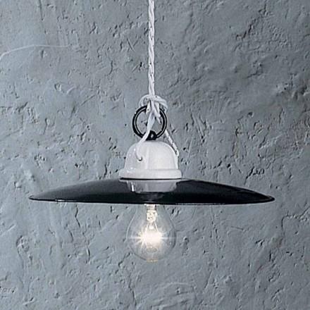 diseño cerámico rústico lámpara Ferroluce Potenza