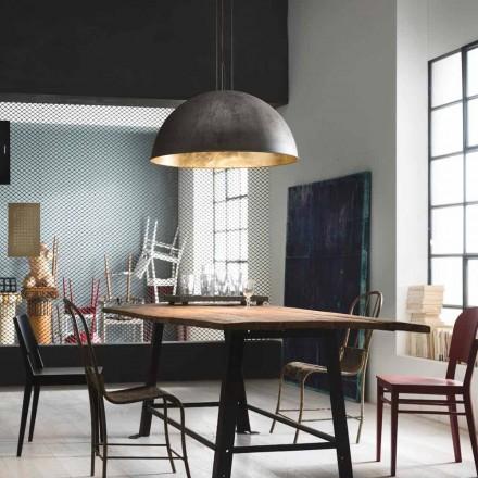 Lámpara de suspensión estilo rústico Ø60 Galileo Il Fanale