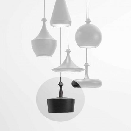 Lámpara de suspensión LED con luz de cerámica - L6 Glitter Aldo Bernardi