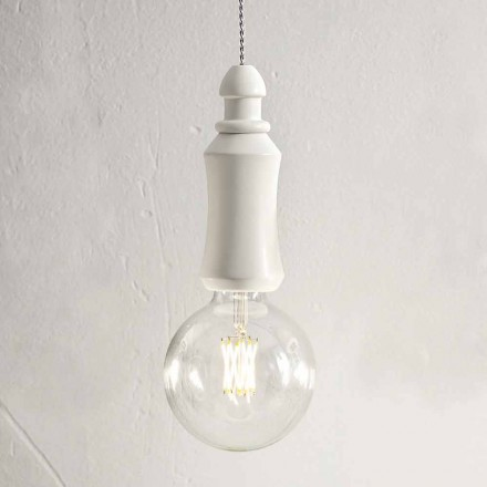 Lámpara de suspensión Shabby de cerámica Made in Italy - Fate Aldo Bernardi