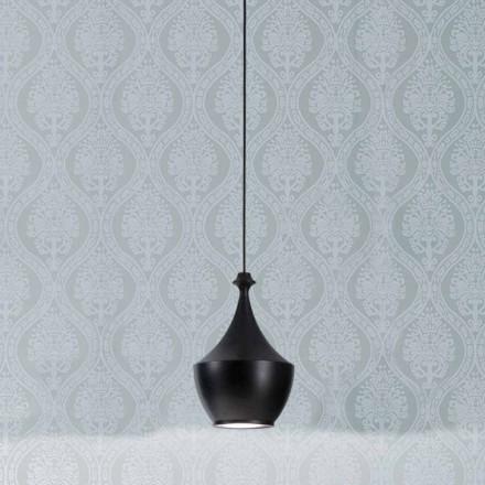 Lámpara suspensión de cerámica I Lustri 3 de Aldo Bernardi