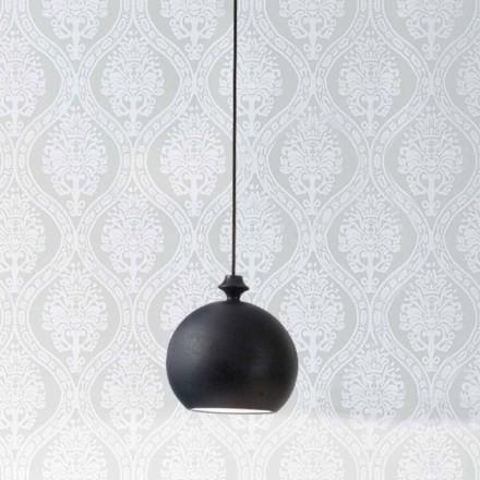 Lámpara suspensión de cerámica I Lustri 5 roseta 2 salidas