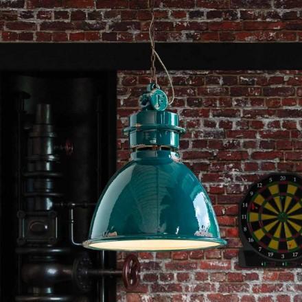 lámpara de suspensión de diseño industrial elaborado Katie