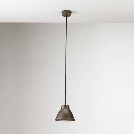 Lámpara suspensión industrial de hierro Loft Mini Il Fanale