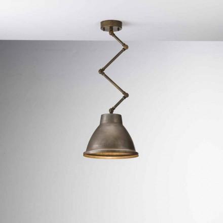 Lámpara suspensión industrial hierro Loft Piccola Il Fanale