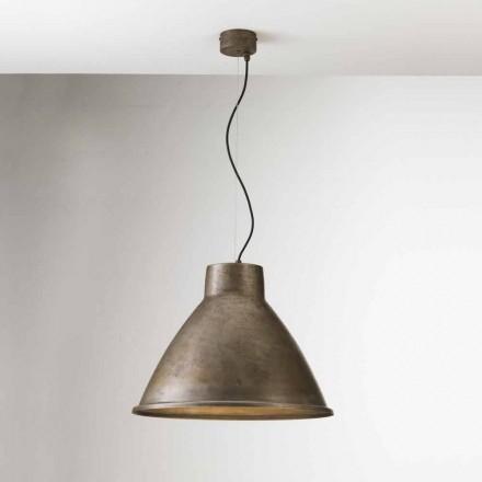 Lámpara suspensión industrial vintage Loft Grande Il Fanale
