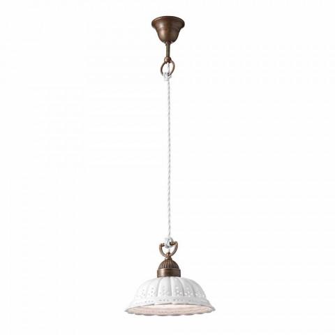 en lámpara de techo de libertad Ø22 cerámica Anita Il Fanale