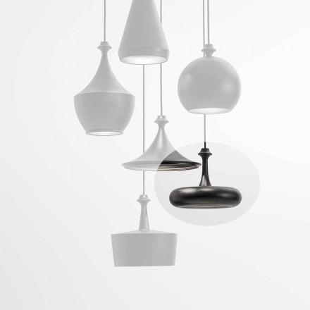 Lámpara de suspensión LED Made in Italy en cerámica - lentejuelas L4 Aldo Bernardi