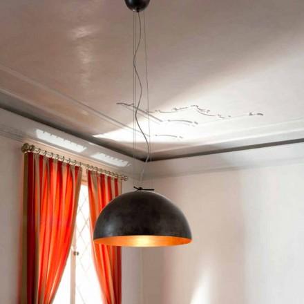 Lámpara de suspensión pequeña de acero modelo Moonlight