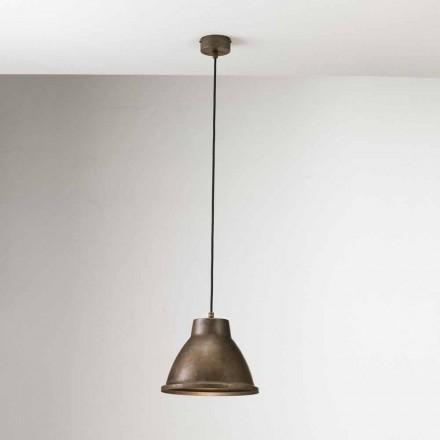Lámpara suspensión estilo industrial Loft Piccola Il Fanale