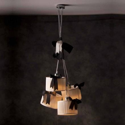 Lámpara de techo vintage con 4 luces modelo Chanel