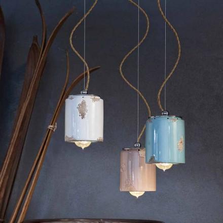 Lámpara colgante artesano vendimia Ferroluce