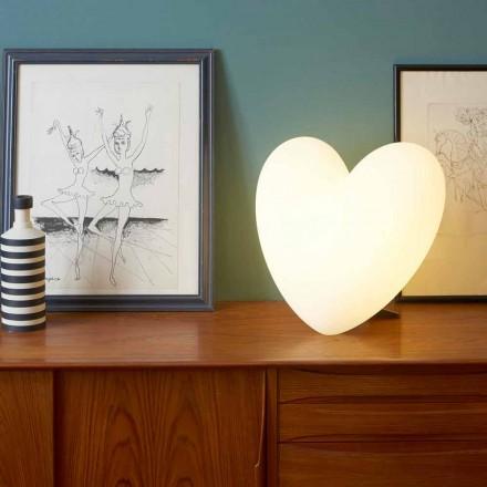 Lámpara de mesa Slide de Love Love hecha en Italia.