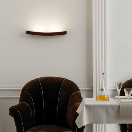 Lámpara de pared de diseño moderno en acero L50x H3,5xSp.10 cm Eldora