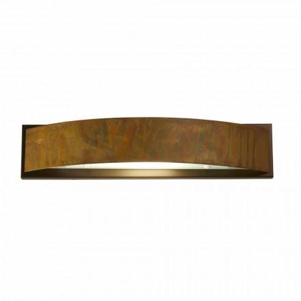 Lámpara de pared en latón y acero 49x H 10 xsp.9 cm Blandine
