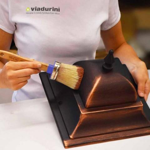 Aplique de aluminio clásico hecho en Italia, Kristel