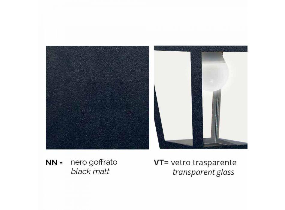 Aplique de exterior de aluminio fabricado en Italia, Kristel