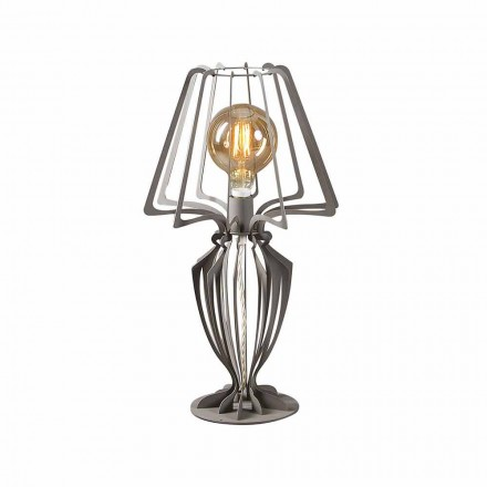 Lámpara de mesa de hierro de diseño moderno Made in Italy - Giunone