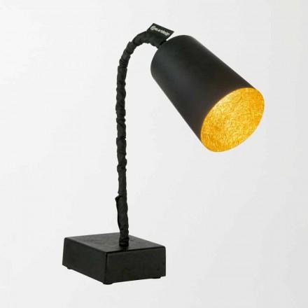 Lámpara de mesa In-es.artdesign Paint T2 pizarra tallo flexible