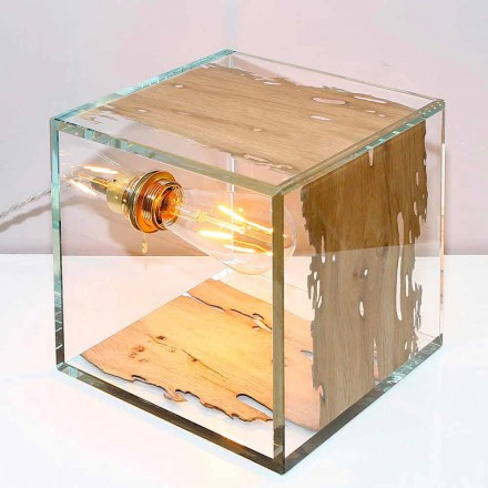 Lámpara de sobremesa de briccola de Venecia y cristal Cà d'oro 22